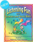 Listening Fun with Scarves and Tennis Balls (Book/CDs)