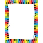 Colorful Keyboard Terrific Papers