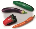 NINO Botany Shaker Assortment of 4 Pieces Vegetables