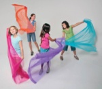 Dancing Colors Scarves Set of 6