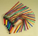 Rainbow Ribbon Wands with Sound