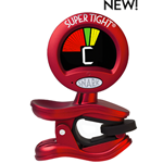 Snark ST-2  Super Tight Clip-on Tuner for all instruments Red