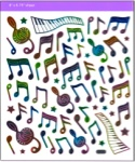 Rainbow Note Stickers
