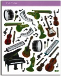 Keyboard/Instrument Stickers