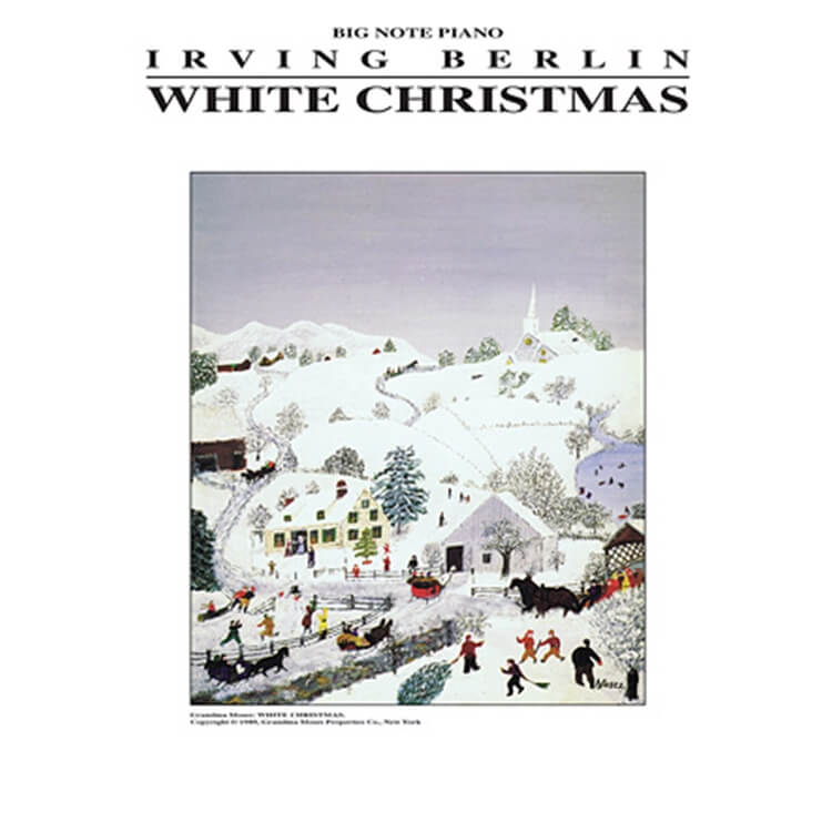 White Christmas - Big Note Piano