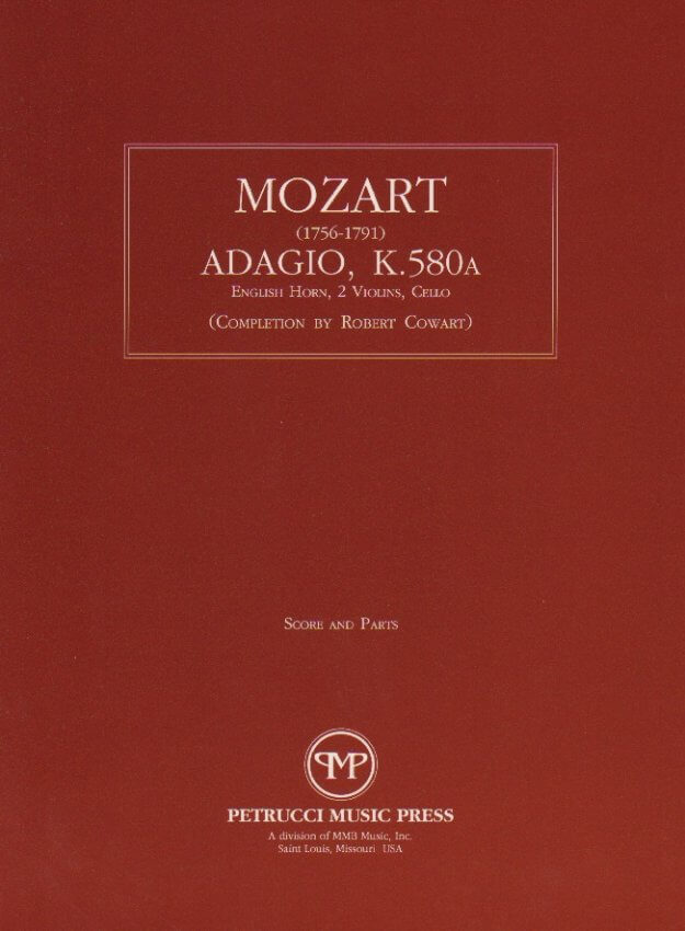 Adagio, K. 580a - English Horn, Two Violins and Cello