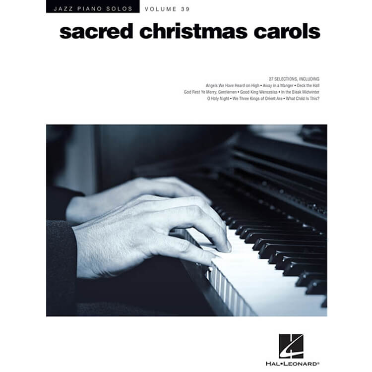 Jazz Piano Solos, Vol. 39: Sacred Christmas Carols