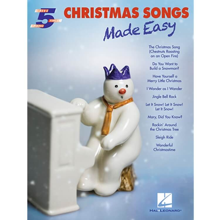 Christmas Songs Made Easy - 5 Finger Piano