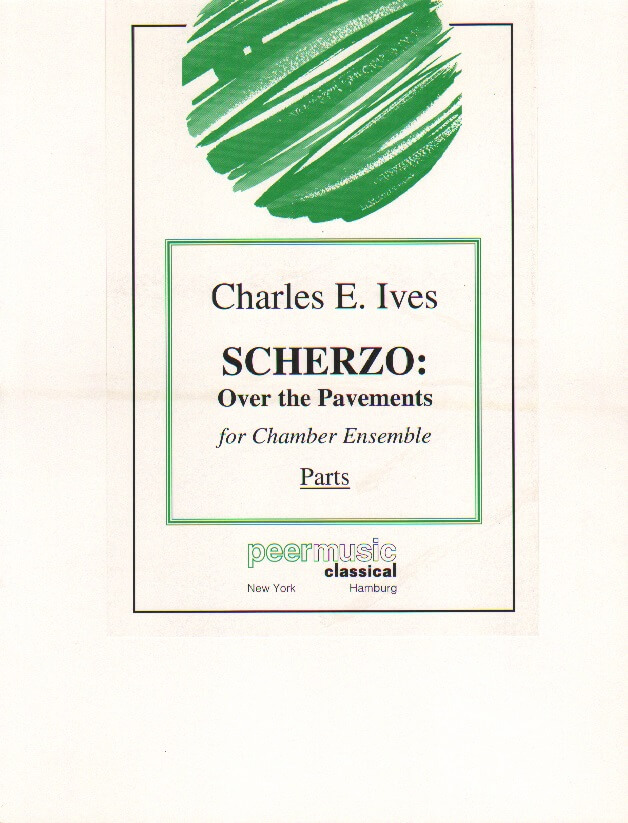 Scherzo: Over the Pavements - Mixed Chamber Ensemble (Parts)