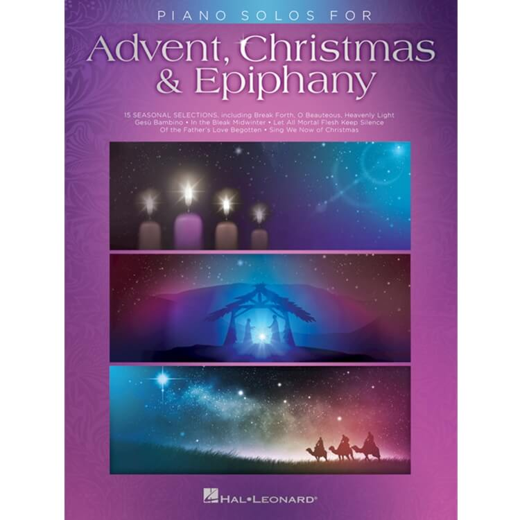 Piano Solos for Advent, Christmas and Epiphany