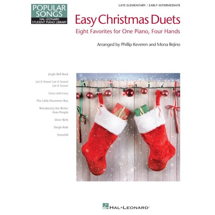Easy Christmas Duets - 1 Piano 4 Hands