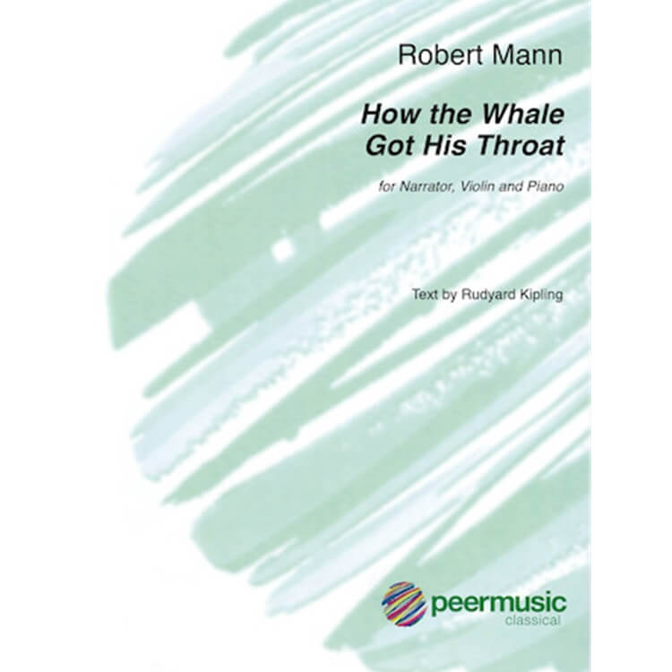 How the Whale Got His Throat - Narrator, Violin, and Piano
