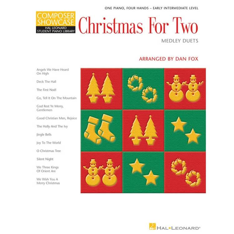 Christmas for Two: Medley Duets - 1 Piano 4 Hands