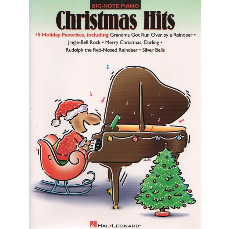 Christmas Hits - Big Note Piano
