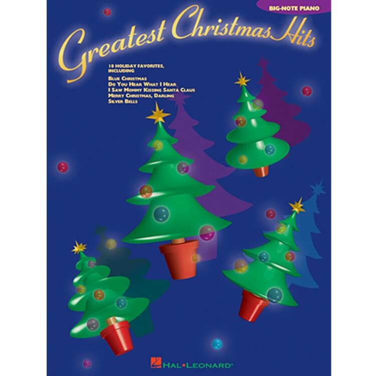 Greatest Christmas Hits - Big Note Piano