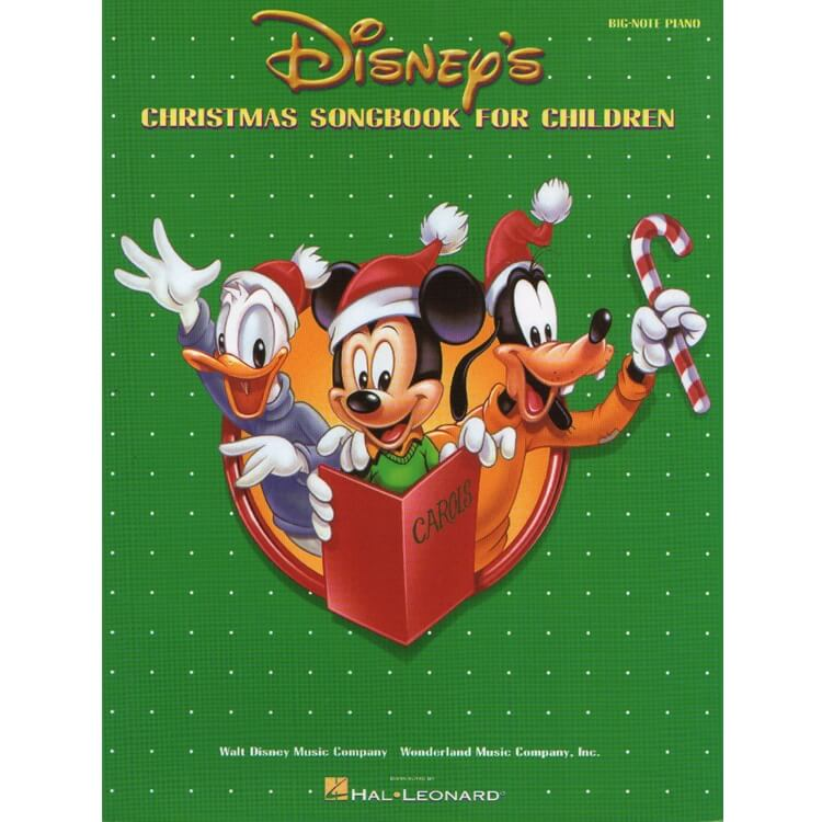 Disney's Christmas Songbook for Children - Big Note Piano