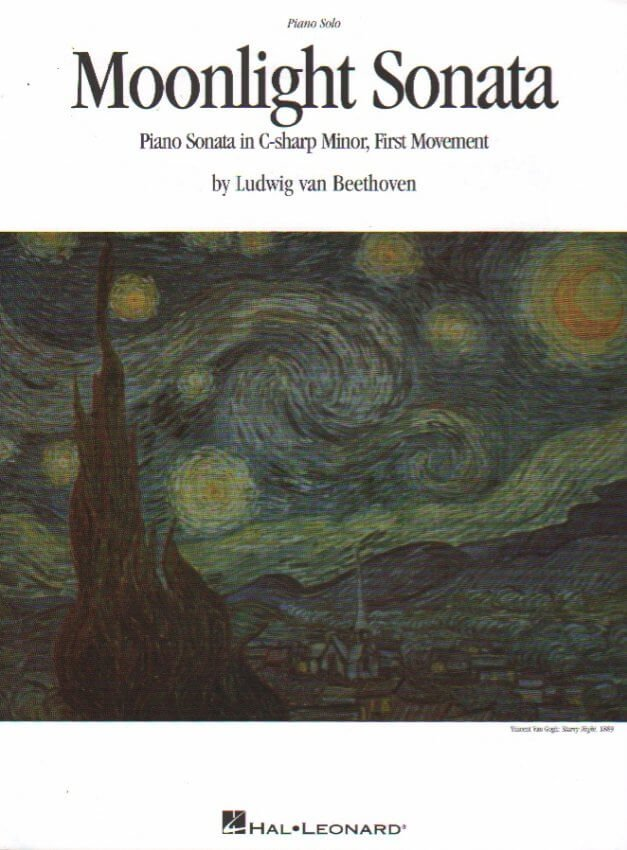 Moonlight Sonata, Mvt. 1 - Piano