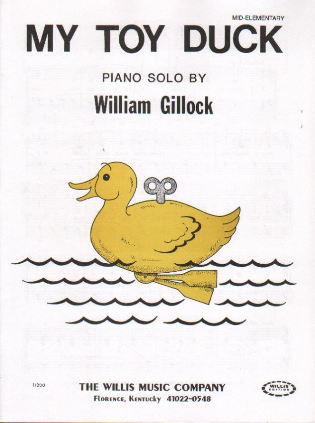 My Toy Duck - Piano