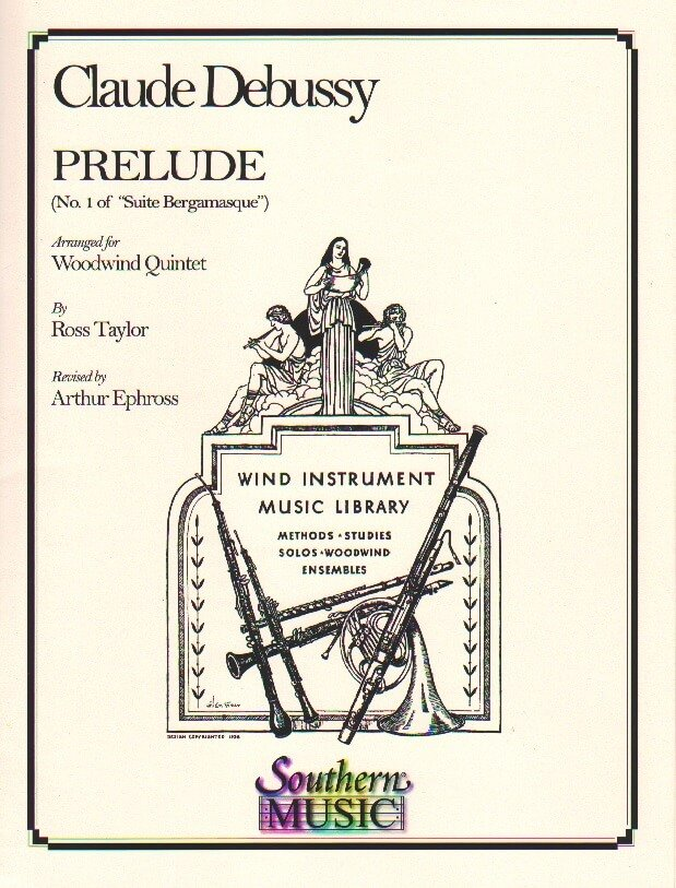 Prelude: No. 1 of Suite Bergamasque - Woodwind Quintet