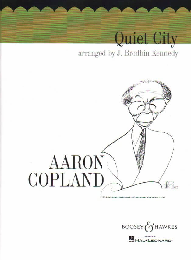 Quiet City - English Horn (or Oboe), Trumpet and Piano