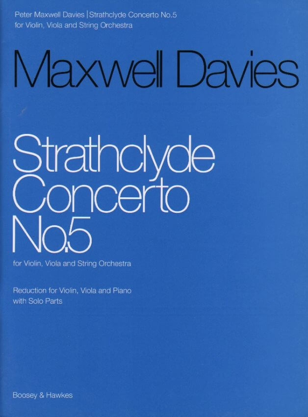 Strathclyde Concerto No. 5 - Violin, Viola and Piano