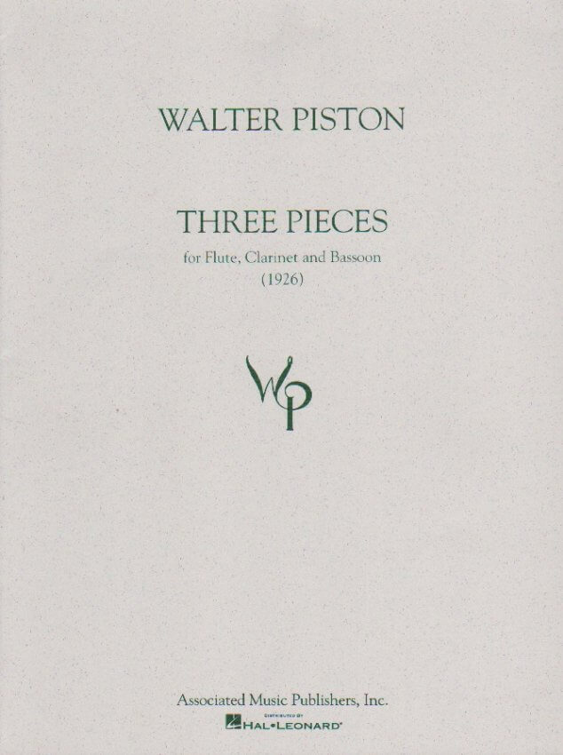 3 Pieces - Flute, Clarinet, and Bassoon