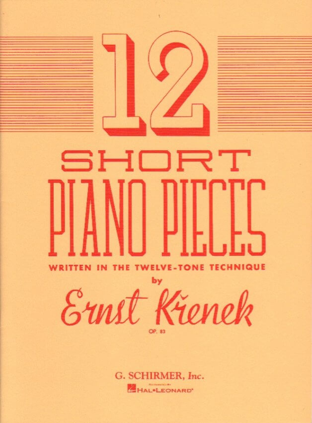 12 Short Piano Pieces