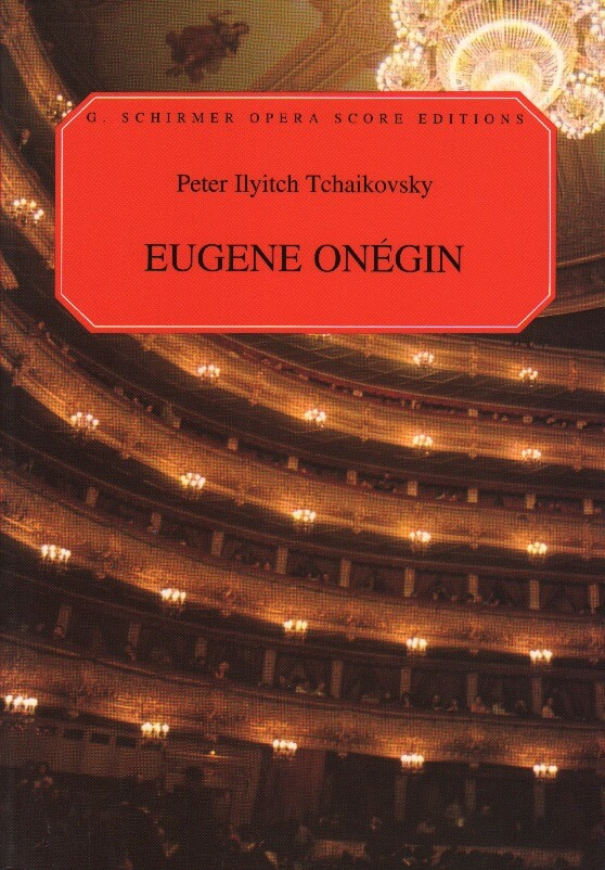 Eugene Onegin - Vocal Score (English)