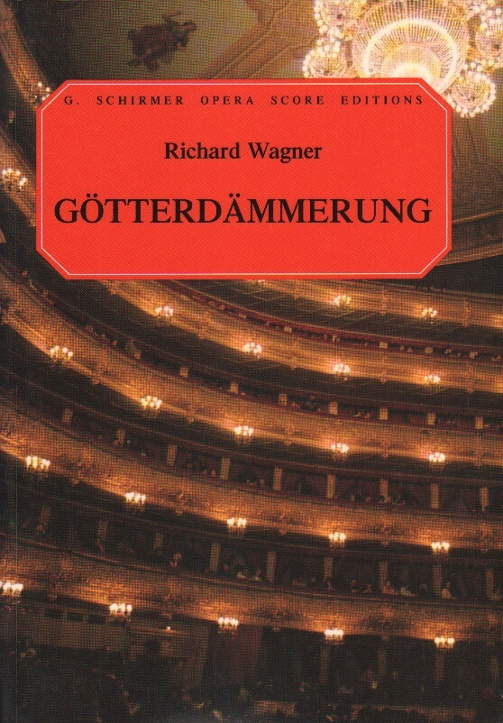 Gotterdammerung - Vocal Score (German/English)