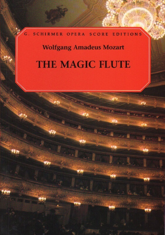 Magic Flute (Die Zauberflote) - Vocal Score (German/English)