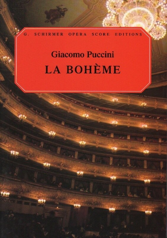 La Boheme - Vocal Score (Italian/English)