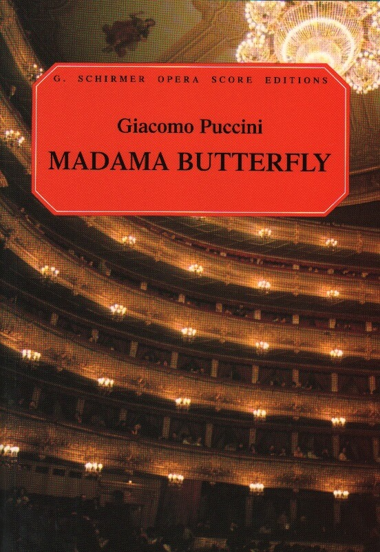 Madama Butterfly - Vocal Score (Italian/English)