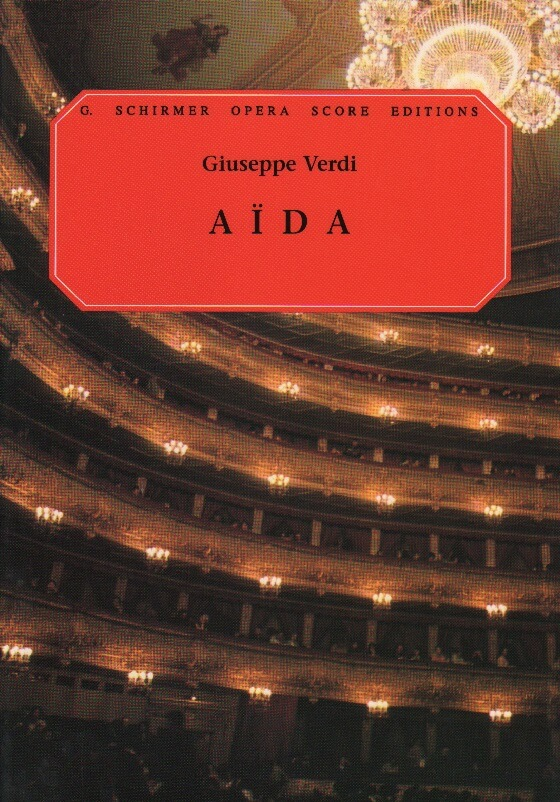 Aida - Vocal Score (Italian/English)