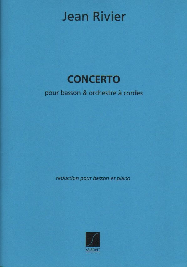 Concerto - Bassoon and Piano