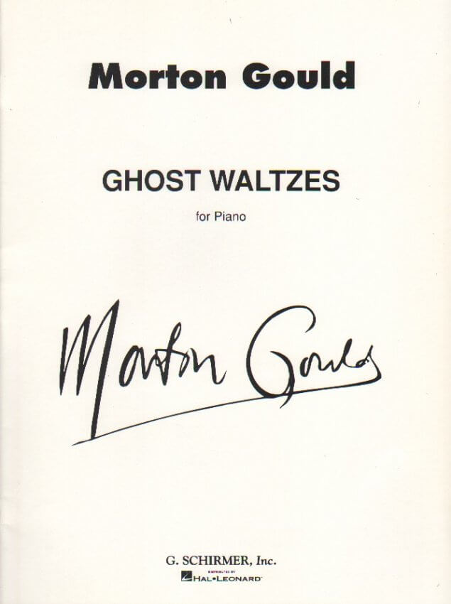 Ghost Waltzes - Piano