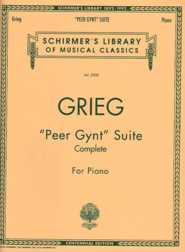 Peer Gynt Suite - Piano