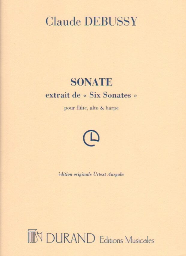 Sonata for Flute, Viola and Harp (from 6 Sonatas)