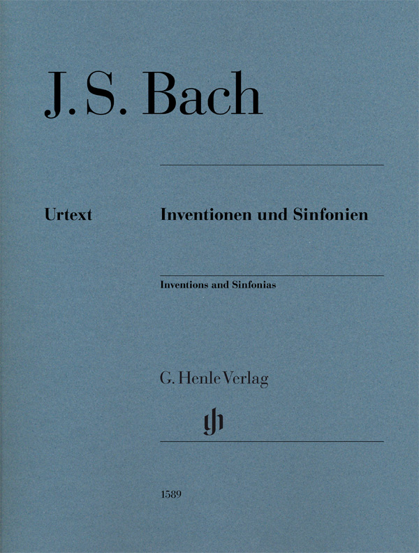 Inventions and Sinfonias, BWV 772-801 (Without Fingering) - Piano Solo