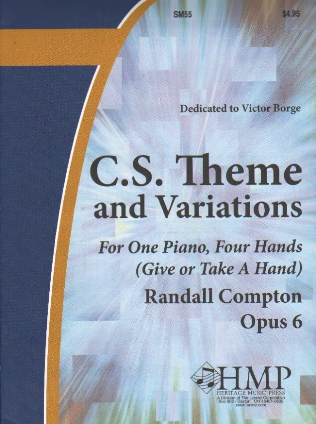 C.S. Theme and Variations - 1 Piano 4 Hands