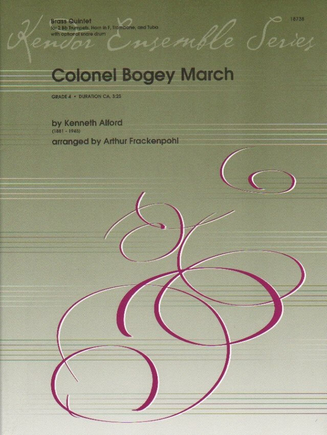 Colonel Bogey March - Brass Quintet and Optional Snare Drum