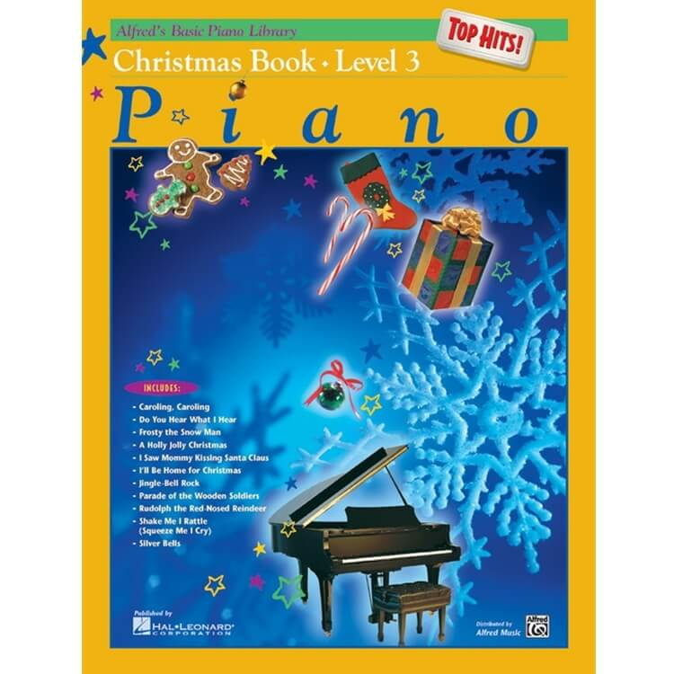 Basic Piano Library: Top Hits! Christmas, Book 3