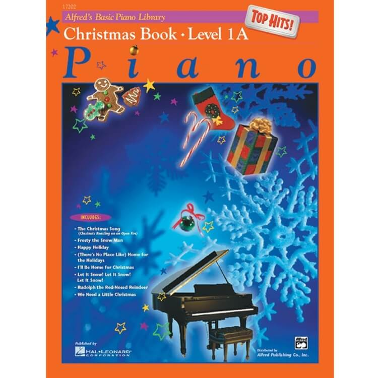 Basic Piano Library: Top Hits! Christmas, Book 1A