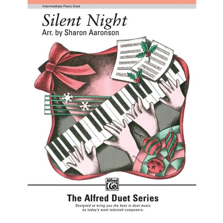 Silent Night - Intermediate Piano Duet