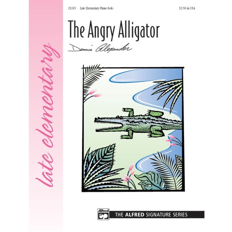 Angry Alligator - Piano