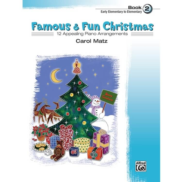Famous and Fun: Christmas, Book 2 - Piano