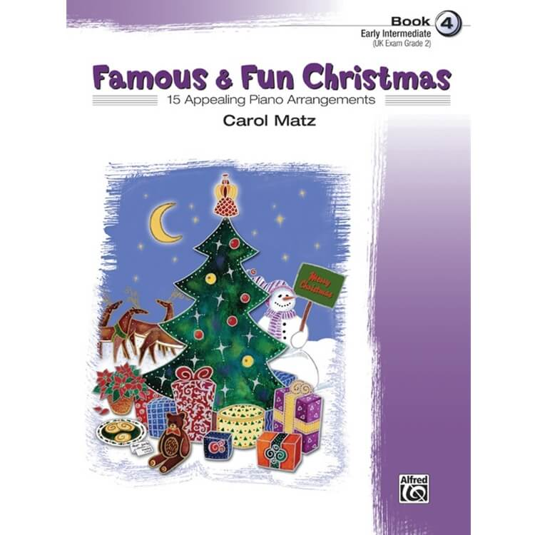 Famous and Fun: Christmas, Book 4 - Piano
