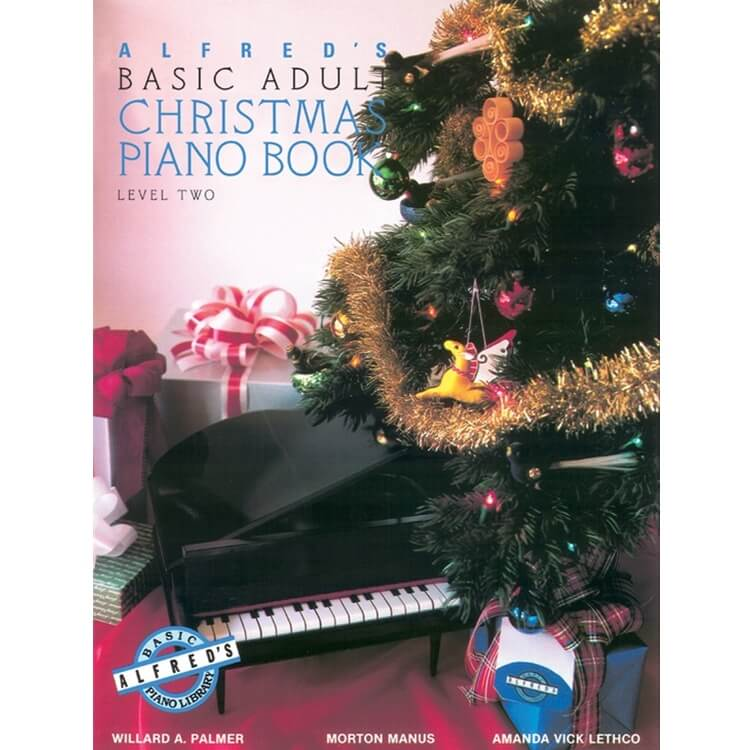 Basic Adult Piano Course: Christmas Piano, Book 2