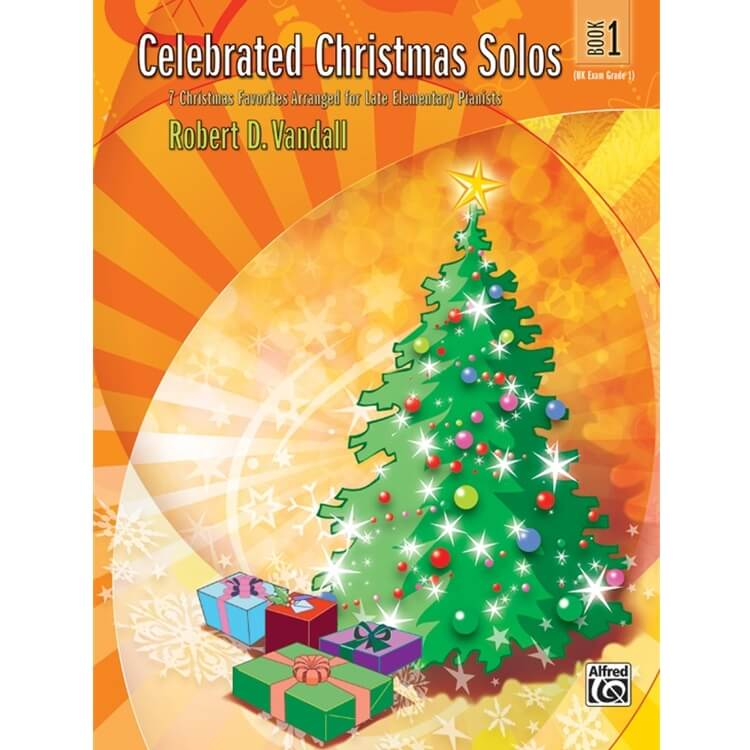 Celebrated Christmas Solos, Book 1 - Piano