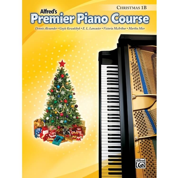 Premier Piano Course: Christmas, Book 1B