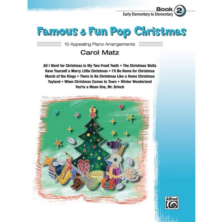 Famous and Fun: Pop Christmas, Book 2 - Piano